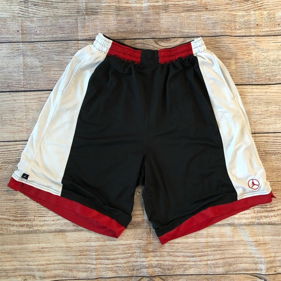 4cfafa2aa98e5b Jordan Other - JORDAN XXL Dri-Fit Basketball Shorts Black Red